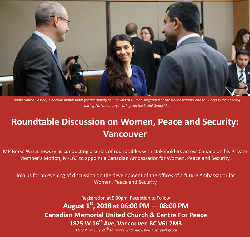 Roundtable Women Peace Security